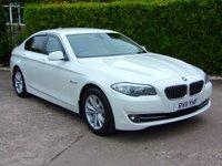 2011 BMW 5 SERIES 2.0 520D SE 4d 181 BHP £8975.00
