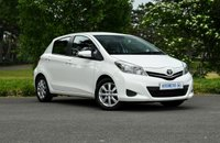 USED 2012 62 TOYOTA YARIS 1.3 VVT-I TR 5d 98 BHP One Former Keeper | FTSH