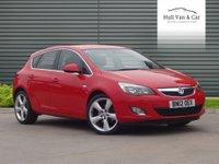 2012 VAUXHALL ASTRA 2.0 SRI CDTI 5d 163 BHP £5995.00