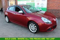 USED 2010 60 ALFA ROMEO GIULIETTA 1.4 MULTIAIR VELOCE TB 5d 170 BHP +6 Stamp FSH +Just Serviced.