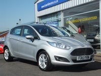 USED 2015 15 FORD FIESTA 1.25 ZETEC 5dr
