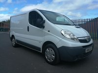 USED 2018 60 VAUXHALL COMMERCIAL VIVARO SWB 2.0 2900 CDTI  90PS DIRECT MOD, FULL SERVICE HISTORY