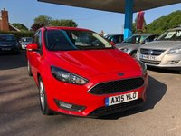 USED 2015 15 FORD FOCUS 1.0 ZETEC 5d 100 BHP NEED FINANCE? WE CAN HELP!