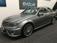 USED 2009 09 MERCEDES-BENZ C CLASS 6.2 C63 AMG 4d AUTO 451 BHP