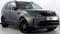 """USED 2017 17 LAND ROVER DISCOVERY 3.0 TD6 HSE Auto 4X4 5dr Black Pack, 21""""s, Pan Roof +"""