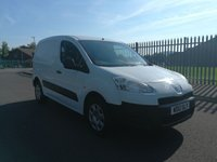 USED 2012 12 PEUGEOT PARTNER L1 1.6 BC SE12 ASSURED 1 OWNER - DIRECT FROM THE MOD - FULL SERVICE HISTORY  - AIR CONDITIONING