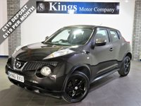 USED 2011 61 NISSAN JUKE 1.5 VISIA DCI 5dr Bluetooth, Gloss Black Alloys,FSH, Great Value for Money !!