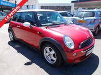 USED 2005 55 MINI HATCH ONE 1.6 ONE 3d 89 BHP 12 MONTHS MOT. 3 MONTHS  WARRANTY