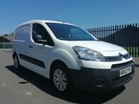 USED 2013 62 CITROEN BERLINGO L1 1.6 90PS 625 LX  1 OWNER - DIRECT FROM THE MOD - FULL SERVICE HISTORY  - AIR CONDITIONING