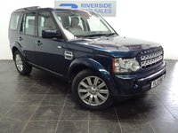 2013 LAND ROVER DISCOVERY 3.0 4 SDV6 XS 5d AUTO 255 BHP £22000.00