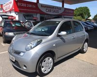 2008 NISSAN MICRA 1.2 ACENTA 41,000 MILES, FULL NISSAN SERVICE HISTORY, 1 OWNER £4495.00
