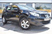 USED 2013 62 NISSAN QASHQAI 1.6 VISIA 5d 117 BHP THE CAR FINANCE SPECIALIST