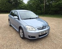 2005 TOYOTA COROLLA T3 COLOUR COLLECTION VVT-I £2350.00