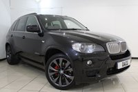 USED 2010 10 BMW X5 3.0 XDRIVE35D M SPORT 5DR 282 BHP FULL SERVICE HISTORY + HEATED LEATHER SEATS + SAT NAVIGATION PROFESSIONAL + REVERSE CAMERA + PARKING SENSOR + BLUETOOTH + CRUISE CONTROL + MULTI FUNCTION WHEEL + 20 INCH ALLOY WHEELS