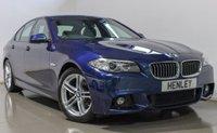 2016 BMW 5 SERIES 2.0 520D M SPORT 4d AUTO 188 BHP £17490.00