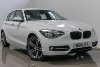 2015 BMW 1 SERIES 2.0 116D SPORT 5d 114 BHP £11990.00