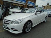 2013 MERCEDES-BENZ E CLASS 3.0 E350 CDI BLUEEFFICIENCY SPORT 2d AUTO 265 BHP £15994.00