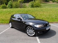 USED 2010 10 BMW 1 SERIES 2.0 118D M SPORT 5d 141 BHP SERVICE HISTORY, £30 TAX