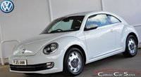 2015 VOLKSWAGEN BEETLE 2.0TDi DESIGN BLUEMOTION TECHNOLOGY 3 DOOR 6-SPEED 150 BHP £12990.00