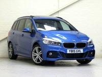 2015 BMW 2 SERIES 2.0 218D M SPORT GRAN TOURER 5d AUTO 148 BHP [7 SEATS] [HUGE SPEC] [VAT Q] £18843.00
