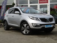 2010 KIA SPORTAGE 2.0 CRDI FIRST EDITION 5d 134 BHP £8495.00