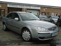 2006 FORD MONDEO 1.8 LX 16V 5d 125 BHP £895.00