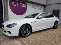 2016 BMW 6 SERIES 3.0 640D M SPORT GRAN COUPE 4d AUTO 309 BHP £25995.00