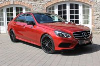 2015 MERCEDES-BENZ E CLASS 3.0 E350 BLUETEC AMG NIGHT ED PREMIUM PLUS 4d AUTO 255 BHP £21950.00