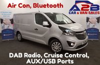 USED 2016 16 VAUXHALL VIVARO SPORTIVE 1.6 2900 SWB CDTI 115 BHP, Air Con, Bluetooth, Cruise Control *Over The Phone Low Rate Finance Available*   *UK Delivery Can Also Be Arranged*           ___       Call us on 01709 866668 or Send us a Text on 07462 824433