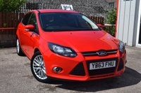 USED 2013 63 FORD FOCUS 1.0 ZETEC 5d 124 BHP FULL SERVICE HISTORY