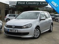USED 2011 11 VOLKSWAGEN GOLF 1.6 S TDI BLUEMOTION 5d 103 BHP Very Low Running Costs Family Hatchback