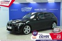 2013 BMW 1 SERIES 2.0 120D XDRIVE M SPORT 5d 181 BHP £10499.00