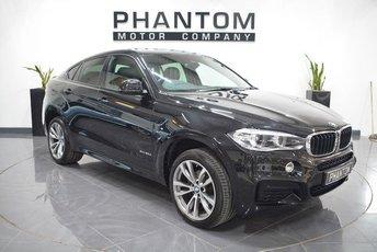 2015 BMW X6 3.0 XDRIVE30D M SPORT 4d AUTO 255 BHP £32490.00