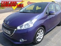 2015 PEUGEOT 208 1.2 VTi Active 5dr 82ps £5750.00