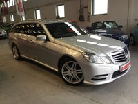 USED 2013 62 MERCEDES-BENZ E CLASS 2.1 E250 CDI BLUEEFFICIENCY SPORT 5d AUTO 204 BHP