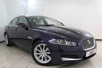 USED 2014 14 JAGUAR XF 2.2 D LUXURY 4DR AUTOMATIC 200 BHP SERVICE HISTORY + HEATED LEATHER SEATS + SAT NAVIGATION + REVERSE CAMERA + BLUETOOTH + CRUISE CONTROL + MULTI FUNCTION WHEEL + CLIMATE CONTROL + 18 INCH ALLOY WHEELS