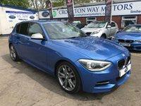 2012 BMW 1 SERIES 3.0 M135I 5d AUTO 316 BHP £16995.00