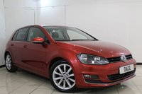 USED 2015 15 VOLKSWAGEN GOLF 2.0 GT TDI BLUEMOTION TECHNOLOGY 5DR 148 BHP SERVICE HISTORY + HEATED LEATHER SEATS + PARKING SENSOR + BLUETOOTH + CRUISE CONTROL + MULTI FUNCTION WHEEL + 17 INCH ALLOY WHEELS