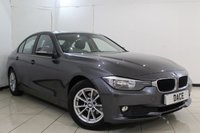 USED 2015 15 BMW 3 SERIES 2.0 320D EFFICIENTDYNAMICS BUSINESS 4DR 161 BHP FULL BMW SERVICE HISTORY + HEATED LEATHER SEATS + SAT NAVIGATION + BLUETOOTH + PARKING SENSOR + CRUISE CONTROL + MULTI FUNCTION WHEEL + CLIMATE CONTROL + 16 INCH ALLOY WHEELS