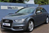 2015 AUDI A4 AVANT 2.0 TDI S LINE AUTO 150 BHP £15780.00