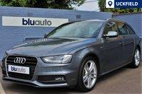 USED 2015 15 AUDI A4 AVANT 2.0 TDI S LINE AUTO 150 BHP Full Audi History, Satellite Navigation, Leather, Heated Seats, Parking Sensors........