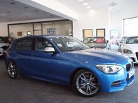 USED 2012 62 BMW M135I 3.0 M135I 5d AUTO 316 BHP PRO SAT NAV+HEATED LEATHER+FSH