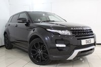 USED 2012 12 LAND ROVER RANGE ROVER EVOQUE 2.2 SD4 DYNAMIC 5DR AUTOMATIC 190 BHP SERVICE HISTORY + HEATED LEATHER SEATS + SAT NAVIGATION + PANORAMIC ROOF + BLUETOOTH + REVERSE CAMERA + PARKING SESNOR + CRUISE CONTROL + MULTI FUNCTION WHEEL + CLIMATE CONTROL + 20 INCH ALLOY WHEELS