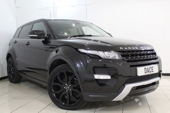 2012 LAND ROVER RANGE ROVER EVOQUE 2.2 SD4 DYNAMIC 5DR AUTOMATIC 190 BHP £21470.00