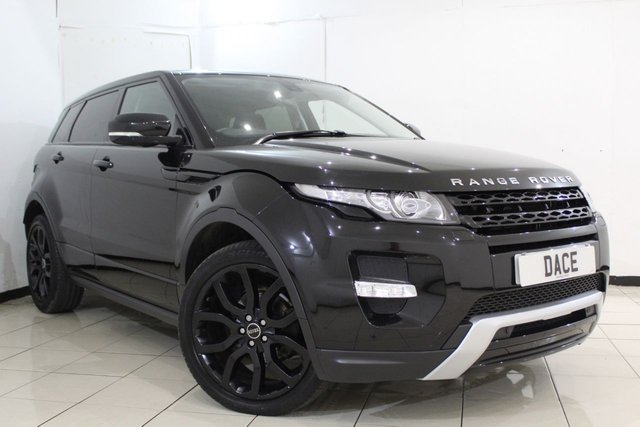 View our 2012 12 LAND ROVER RANGE ROVER EVOQUE 2.2 SD4 DYNAMIC 5DR AUTOMATIC 190 BHP