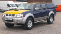 2006 NISSAN NAVARA 2.5 DOUBLE CAB DI SWB 4d 131 BHP 1 OWNER F/S/H LOW MILES \ FREE 12 MONTHS WARRANTY COVER \ £6390.00