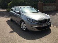 2015 PEUGEOT 308 1.6 BLUE HDI S/S SW ACTIVE 5d 120 BHP PLEASE CALL TO VIEW £8450.00