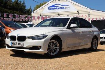 2013 BMW 3 SERIES 2.0 320D EFFICIENTDYNAMICS BUSINESS 4d AUTO 161 BHP