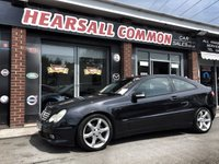 USED 2005 55 MERCEDES-BENZ C CLASS 2.1 C220 CDI SPORT EDITION 3d AUTO 148 BHP