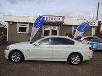 2012 BMW 5 SERIES 2.0 520D EFFICIENTDYNAMICS 4DR DIESEL 181 BHP £11300.00